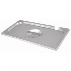Gastronormbehälterdeckel ECO GN 1/2 - mit Löffelaussparung