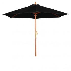 Sonnenschirm Bolero rund schwarz 3 meter