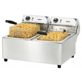 CASSELIN - Friteuse électrique 2 x 10 litres