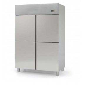 Kühlschrank Profi 1400 GN 2/1 - mit 4 Halbtüren