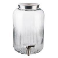 APS Distributeur de boissons en verre Ø 20 cm, H : 30,5 cm, 7 litres