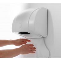 Sèche-mains 1500W, dimensions 240x210x265mm
