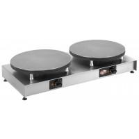 Crêpière électrique Neumaerker Active II - 2 plaques de cuisson Ø400mm