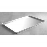 Plateau en aluminium, 40 x 30 x 2 cm