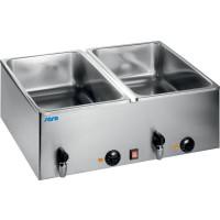 Bain-marie 160 2x GN 1/1, 150 mm, avec robinet