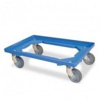 Chariot de transport bleu