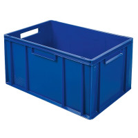 Euro-Stapelbehälter 600x400 mm, blau -  320 mm   Lager & Transport/Lagerausstattung/Lager- & Transportbehälter