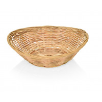 Corbeille à pain en bambou, ovale, 20x15,5x5cm