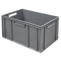 Euro-Stapelbehälter 600x400 mm, grau - 320 mm   Lager & Transport/Lagerausstattung/Lager- & Transportbehälter