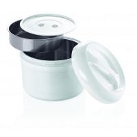 Kunststoff-Thermobehälter für 2 Einsätze -  3 Liter gesamt   Lager & Transport/Speisentransport/Speisentransportbehälter