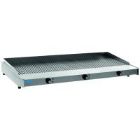Saro Elektro-Grillplatte WOW Grill 1200 gerillt - Tischgerät
