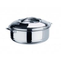 Thermobehälter aus Edelstahl mit Lappengriffen - 2,5 Liter   Lager & Transport/Speisentransport/Speisentransportbehälter