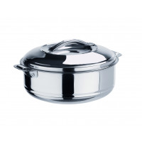 Contenant isotherme en inox avec poignées de chiffon - 3,5 litres