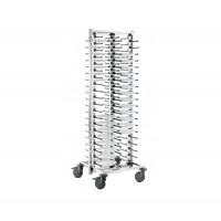 Blanco SERVISTAR GASTRO 80 auf Rädern für 80 Teller, fertig montiert | Lager & Transport/Geschirr- & Glastransport/Tellerstapler