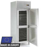 Réfrigérateur Profi 700 GN 2/1 - avec réfrigération statique et 2demi-portes