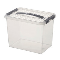 Klarsichtbehälter mit Deckel 600x400 mm - 420 mm | Lager & Transport/Lagerausstattung/Lager- & Transportbehälter