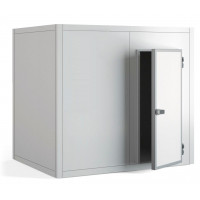 Chambre froide positive PROFI 80 mm de paroi, 1 990 x 1 790 x 2 160 mm