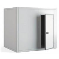 Chambre froide positive PROFI 80 mm de paroi, 2 390 x 1 090 x 2 160 mm