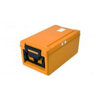 Rieber Thermobox 26 Liter Toplader beheizt, orange