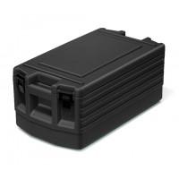 Rieber conteneur isotherme, chargement par le haut avec fermeture, noir