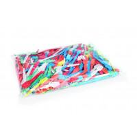 500 cuillères en plastique, jetables, triées par couleur