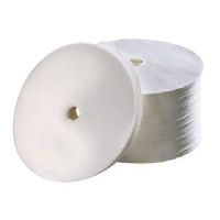 1 000 filtres en papier ronds Bartscher, diamètre : 245 mm