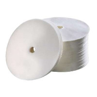 250 filtres en papier ronds Bartscher, diamètre : 245 mm