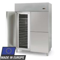 Armoire pâtissière réfrigérée Profi 1400 EN - avec 1 porte et 2 demi-portes