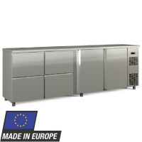 Barkühltisch PROFI 2/4 - Edelstahl