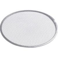 Grille à pizza en aluminium - métal déployé, diamètre : 33 cm