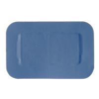 50pansements bleus 4x4cm