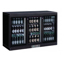 Polar Bar Displaykühlschrank mit 3 Schiebetüren