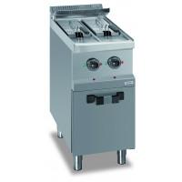 Elektrofritteuse 7+7 Liter Dexion Serie 77 - 40/70