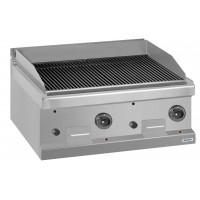 Gas-Lavagsteingrill Dexion Serie 77 - 70/70 Tischgerät