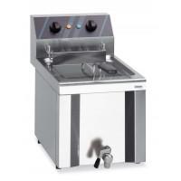 Friteuse électrique Profi 8 l avec robinet de purge, 400 V