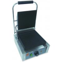 Grill panini électrique ECO 1,8 kW, rainuré
