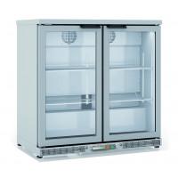 Réfrigérateur bar Profi 200 litres - en inox