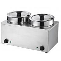 Suppenstation Eco 2x3,5 Liter, Edelstahl | Kochtechnik/Saisongeräte/Suppenkessel