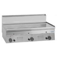 Gas-Grillplatte Dexion Serie 66 - 100/60 glatt, verchromt Tischgerät
