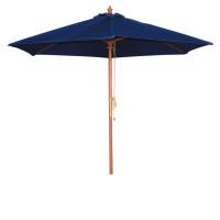 Parasol Bolero rond, bleu foncé, 3mètres