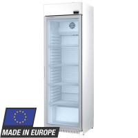 Armoire vitrée positive Profi 400 blanche avec tête d'éclairage intégrée