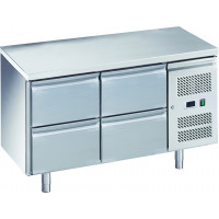 Table réfrigérée ECO 0/4 - GN 1/1