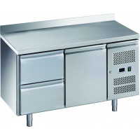 Table réfrigérée ECO1/2 avec dosseret - GN 1/1