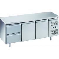 Table réfrigérée ECO 2/2 - GN 1/1