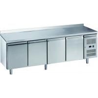Table réfrigérée ECO4/0 avec dosseret - GN 1/1