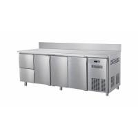 Table réfrigérée ECO 3/2 avec dosseret - GN 1/1