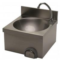 Lave-mains ECO 400x400 avec dosseret de 100mm