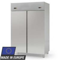 Réfrigérateur inox Profi 1400 GN 2/1 - 2 groupes frigorifiques et 2portes