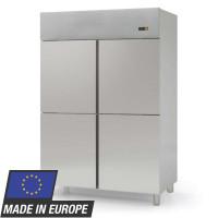 Réfrigérateur inox Profi 1400 GN 2/1 - avec 4demi-portes