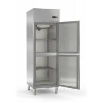 Réfrigérateur Profi 700 GN 2/1 - avec 2demi-portes